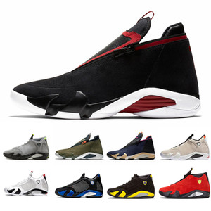 Bred Light Graphite 14s DMP 14 Mens 농구 shoes XVI Reverse DMP University Red Last shot Jumpman Z Varsity Royal men 운동화