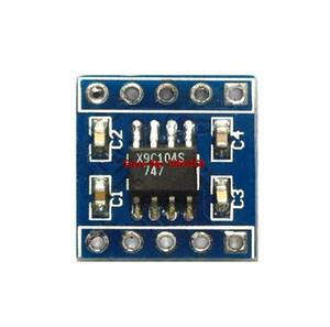 Livraison gratuite 10PCS / LOT x9c104 potentiomètre numérique module 100 potentiomètre numérique pour régler la balance de pont