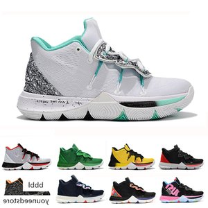 2019 Kyrie Men 5 Basketball Shoes for Cheap Sale Irving 5s Sneakers Sports Mens Shoe Wolf Grey Team Red Outdoor Trainers BasketBall Shoes