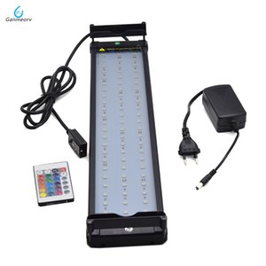 11W Color Changing lamp Aquarium LED Lighting for Fish Tank 50~75cm RGB LED light for aquarium Dimmable Remote Controller