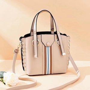 Handtasche 2020 Herbst-neue koreanische Art PU-Beutel-Art- und Hit Farbe Retro Tasche Frauen-Schulter-Kurier Großhandel