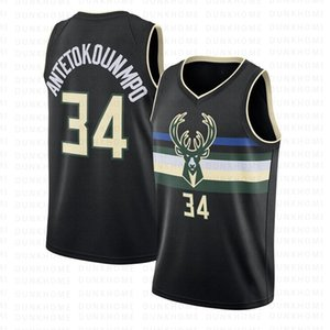 NCAA 34 Giannis Antetokounmpo College Basketballtrikots Herren Jugendtrikots Eric 34 Allen 6 Eric Bledsoe Basketball Milwaukee Bucks 2020 New Jerseys Bestickt