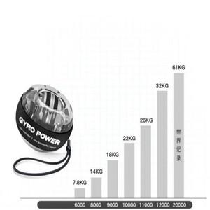 2020 قبضة الكرة قوة الذراع المعصم الذاتي بدءا مضيئة فائقة الدوران أي قوة الضوء الكرة المعصم الذراع التمارين سترينجذينير LED مع سرعة الجهاز