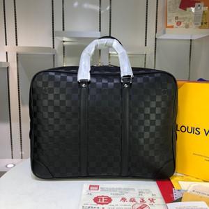 cuir porte-documents pour hommes à la mode de haute qualité de se rendre au travail sac à main Cartable de porte-documents pour hommes 41 * 31 * 7 cm 41125