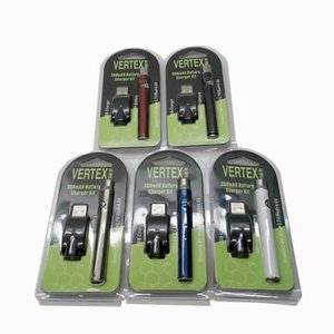 New Preheat Battery Blister Pack 5 Colors 350mAh Vertex Variable Voltage Battery for Thick Oil Atomizer Tank CE3 Vapes Vape Pod