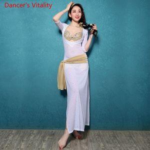 Belly Dance Dress Belly Dance Dancing Bollywood Costumes 1 Pz Costumi professionali da donna
