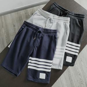 donne o uomini moda migliore versione TB mens jogging a strisce sportive di qualità coulisse pantaloni corti pantaloni della tuta Pantaloni pantalon homme