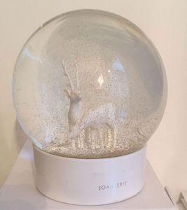 2020 سنو غلوب أحدث سيكا الغزلان الكلاسيكية الكريستال الأبيض الكرة مع هدية مربع محدودة هدية ل vip العملاء
