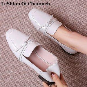 cuero reales dulce pajarita zapatos de los planos de las señoras de la mujer de tamaño más grande 42 mocasines negros ons del resbalón de las mujeres calza mocasines blancos blandos nuevos