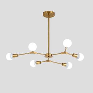 Moderna luci a sospensione a LED Nordic Art Restaurant a sospensione lampade 3/6/9 Luce Sala da pranzo Hanglamp Lamparas decorazione domestica Illuminazione