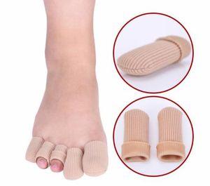 Jel ve Pamuk Ayak Parmakları Ayak Jel Kap Parmak Toe Blister Callouses Kabartma Tüp Koruyucu Küçük Ayak Bakımı Sağlık Ayak sağlığı