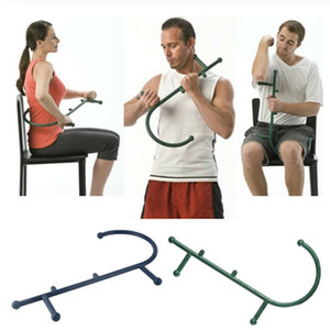 Hommes Femmes Retour massage du cou Muscle pression profonde Outils Trigger Point Body Massager Self Racks