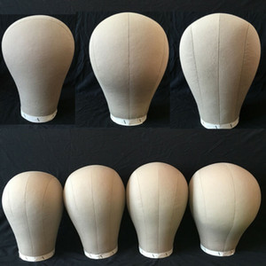 """США 21-24"""" холст голова парик делая манекен модель блок головы t Cap Hat дисплей стенд"""