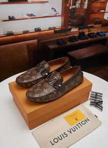 Top luxueux Mode Printemps et Automne Style Doux Mocassins Hommes Mocassins Chaussures en Cuir de Haute Qualité Hommes Appartements Conduite Chaussures Grande Taille