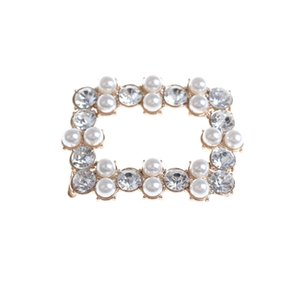7styles scarpa cristallo clip decorazione perla di Faux clip scarpe scarpe da sposa strass clip fibbia decorativa Shoes Accessories