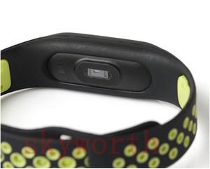 Pour Xiaomi Mi 2 3 TPU double couleur en silicone Bracelet intelligent bande bracelet de rechange Bracelet Miband 2 Accessoires Bracelet environnement bracelet