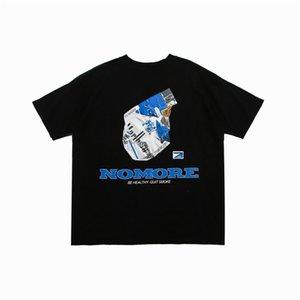 Printed Hiphop-T-Shirt Männer Frauen 2020 Sommer-Crew Neck T-Shirts beiläufige Baumwolle T Shirts