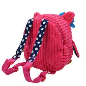 2016 25cm 아이들 SOZZY 학교 가방 러블리 만화 동물 배낭 아기 플러시 어깨 가방 Schoolbag 유아 스낵 책 가방 어린이 선물
