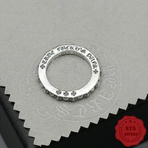 925 الفضة الاسترليني عصابة الاتجاه شخصية المجوهرات أسلوب فاسق الهيب هوب الهيب هوب أسلوب بسيط عبر إلكتروني 2019 ساخنة جديدة