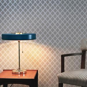 책상 램프 창조적 인 철 블랙 화이트 블루 테이블 램프 현대 미니멀 거실 식당 침실 연구 방 조명