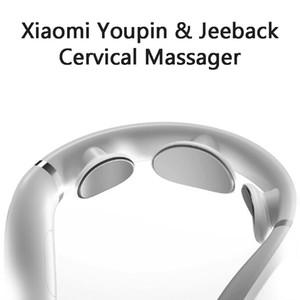 Youpin Jeeback cervical masajeador TENS G2 pulso Volver Massager del cuello del infrarrojo lejano Calefacción Cuidado de la Salud Relax trabajo para la aplicación Mijia