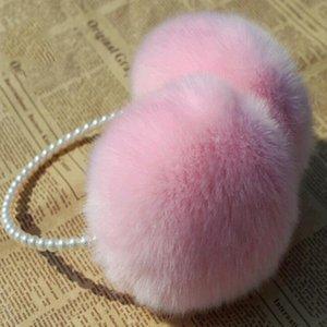 Fur Earmuffs Ear Muffs Ohrenwärmer Ohrenschützer Earflap Winter Outdoor Frauen Warmer Stirnband Weihnachtsgeschenke