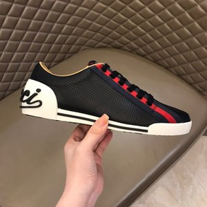 2020 Luxe Italie Ace Bee Chaussures Hommes Femmes Mode Plate-forme Souliers formels Skateboarding Casual Vintage étoiles Tiger Brand Designer Sneakers RD691