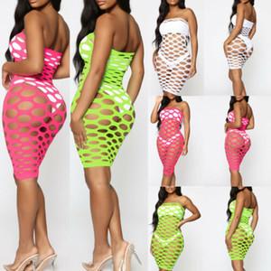 Sexy Mesh Beach Dress Femme Maillots De Bain Eté Résille Bikini Cover Up Beach Dress Baignade Sarong Wrap