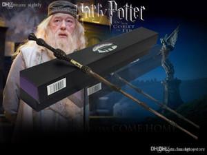 Toptan-Toptan / perakende Yeni Dumbledore Değnek Kutu Cosplay Ücretsiz Nakliye Magical Stick Değnek Yeni
