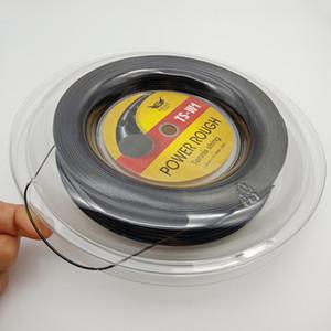 China Tennis Sporting Goods Fabricação famosa marca Alu Poder poliéster áspero 1,25 milímetros 200m Reel Ténis de Cordas