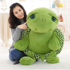 80cm 100cm Large Toy Lovely Big & Plush Animals Stuffed Animals & Plush Eyes Tortoise Soft Stuffed Animal Cushion Soft Small Sea Turtles Dol