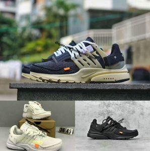 Heiße Selling 2020 neue Presto V2 Ultra-BR TP QS off Schwarz Weiß X Beiläufiges Designer Schuhe Günstige Kissen Presto Frauen Männer Trainer-Turnschuhe 36 ~ 46