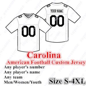 4XL CUSTOM Carolina Amerikaner Jersey 7 Alle 22 McCaffrey 12 Moore 10 Samuel 88 Olsen 59 Kuechly 97 Addison 25 Reid 50 Miller 53 Brennt Newton