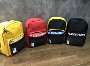 Canvas PLACES PLUS GESICHTER 3M Rucksack Reise Wandern Tasche Sport Rucksack Schultasche