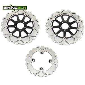 BIKINGBOY Front Rear Brake Discs Disks Rotors For ZX12R Ninja 2000 2001 2002 2003 ZX-12R Ninja 00 01 02 03