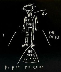 Jean-Michel Basquiat los offs del primer registro cubierta decoración del hogar pintado a mano de la impresión de HD pintura al óleo sobre lienzo de arte cuadros de la pared de lona 200310