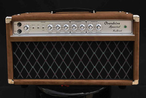 Grand Boutique Hand-wired ODS50 Overdrive Special Amplifier Head 50W in Brown Custom Faceplate is Available free shipping
