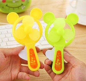 2020 Cartoon hand press fan hand-held portable portable mini cute hand hold student children toys custom