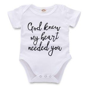 الوليد بذلة السروال القصير الطفل الرضيع طفلة الصبي عارضة الملابس رسالة مطبوعة أبيض قصير الأكمام طفل 43
