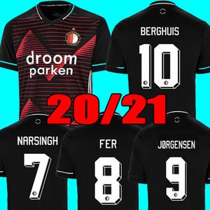 20 21 camiseta de fútbol Feyenoord KOKCU BERGHUIS FER Camiseta de fútbol JORGENSEN camiseta de fútbol 2020 2021 SENESI hombres camiseta de fútbol para niños
