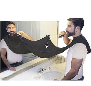 Siyah Beard adam Önlük Yeni Tıraş Önlük Sakal hızlı convenien Bakım Temizlik Erkekler su geçirmez Temizleme Koru Banyo Malzemeleri