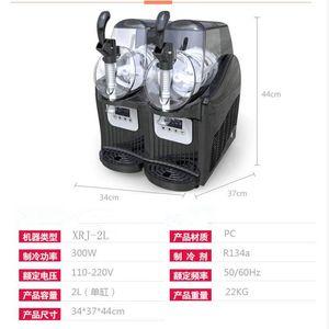 2020 mais popular Commercial Low-cost lama máquina 300W neve máquina de bebidas frozen floco de gelo máquina de fusão