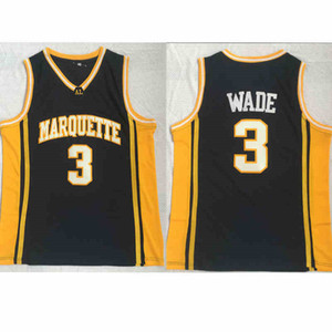 RICHARDS di scuola superiore maschile Dwyane Wade 3 Allen Iverson 3 High School di Jersey irlandese James Harden 13 LeBron James 23 Larry