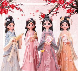 Creative student gifts Chinese style Han clothes for girls decorated with Qing court checkered gifts for women's birthday