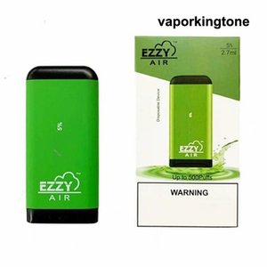 Newest EZZY AIR Disposable Device Pod Vape Pen 2.7ml Vaporizer 450mAh Battery Empty Vape Pen Starter Kit E Cigarettes Vape Kits