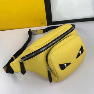 2019 известный дизайнер сумка талии Маленькие монстры досуг сумка кожаная высококачественная кожаная бумба и мужчины и женщины сак банан