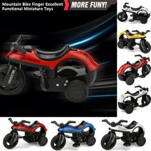 Neue Art und Weise scherzt Miniträger Pull Back Spielzeug Bikes mit Big-Reifen-Rad-kreative Geschenke für Kinder 3E25