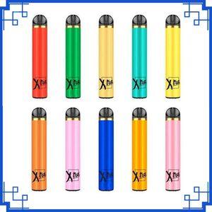 Neue XTRA Einweg Vape Stift 5ml Cartridge 1500 Puffs Starter Kit Geräte-System-Vaporizer leeren PK Myst Salz plus