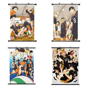 1 parede Pcs Haikyuu Anime Manga Poster Scroll Decoração Wall Art