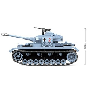Новый военный Строительные блоки Tank Модель Building Blocks Fit Technic Город WW2 Солдат полиции армии Кирпичи Модель Просвещайте Рисунок Игрушки